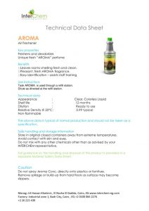 thumbnail of Technical Data Sheet – Aroma